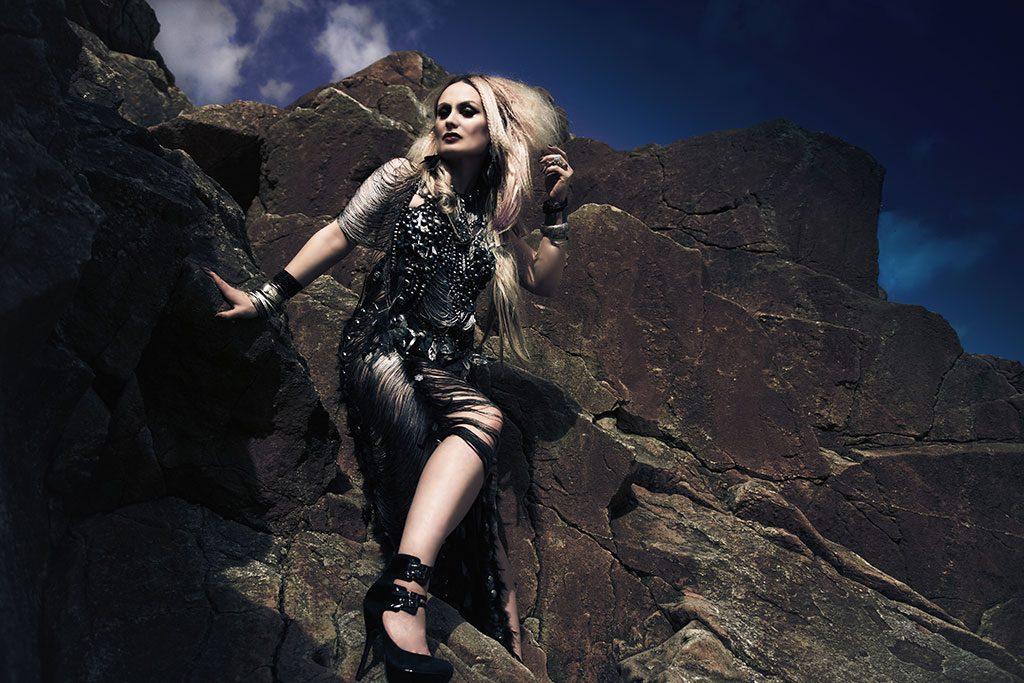 Sylvia Roza on the Rocks